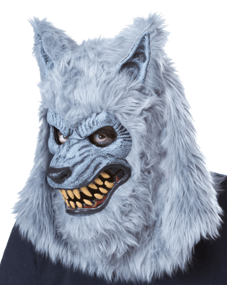 Werewolf mask Horror mask with moving mouth