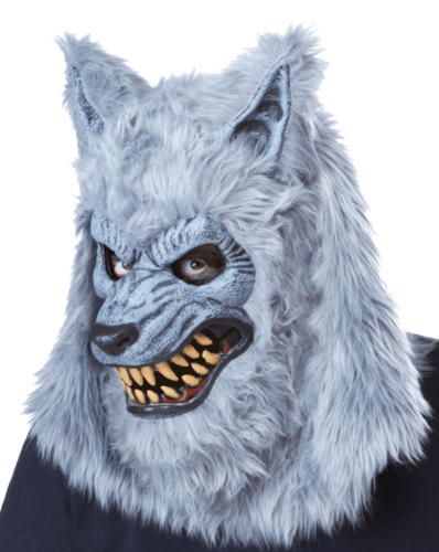 Werewolf mask full moon Horror mask  - Moving mouth