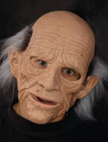 Senior man mask Balding Old Male - soft latex mask