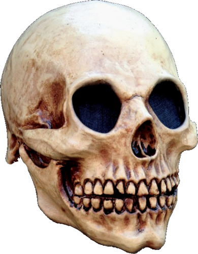 Old Skull skeleton horror mask