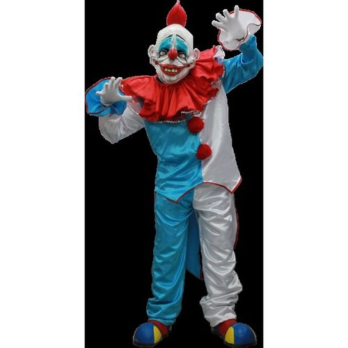 Insane clown deluxe horror costume with mask