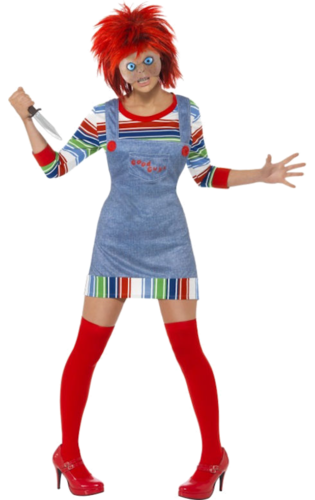 Licensed Miss Chucky costume with mask