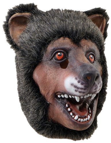 Latex Animal mask - Bear