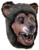 Latex animal mask - Bear - latex animal mask