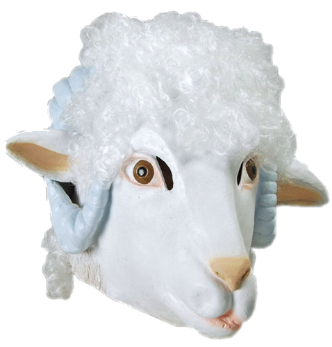 Latex Animal mask - Sheep - Ram