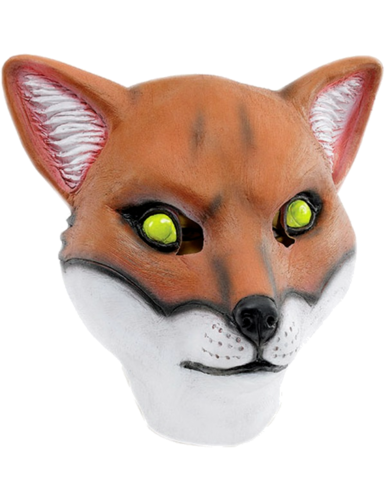 Latex Animal mask - Fox