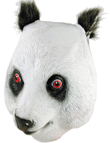 Latex Animal mask - Panda