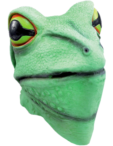 Latex Animal mask - Frog