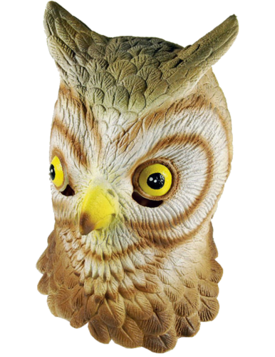 Latex Animal mask - Owl