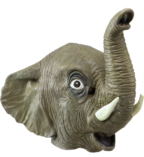 Latex Animal mask - Elephant