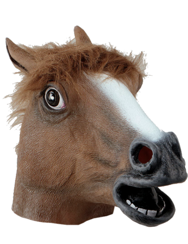 Latex Animal mask - Horse