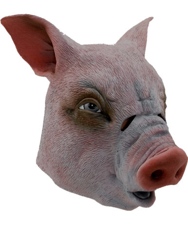 Latex Animal mask - Pig