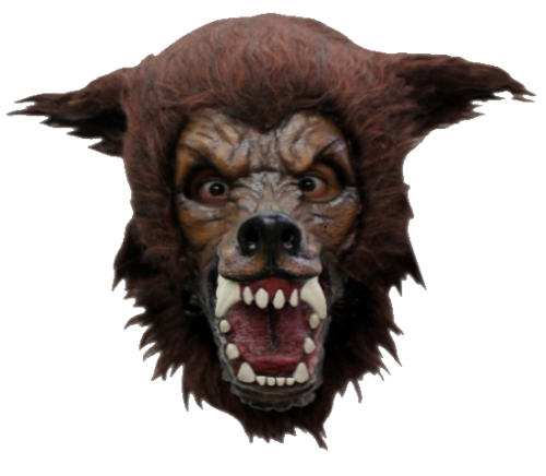 Man Wolf Halloween horror mask