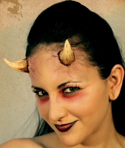 Prosthetic appliance demon horns female