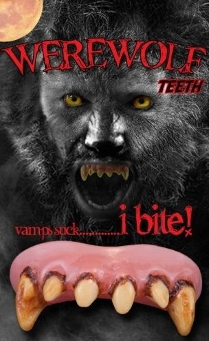 Horror teeth - Dentures / fangs  Billy Bob