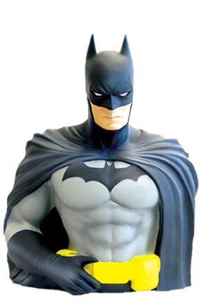 Batman - Dc comics - Batman -  bust bank - Batman money box