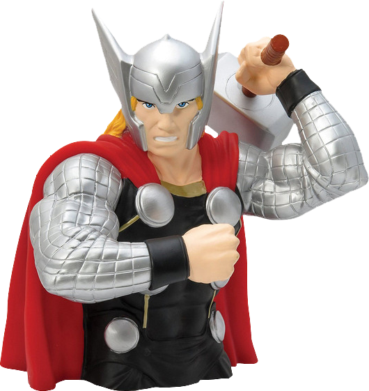 Marvel avengers bust bank -  The THOR - money box bust