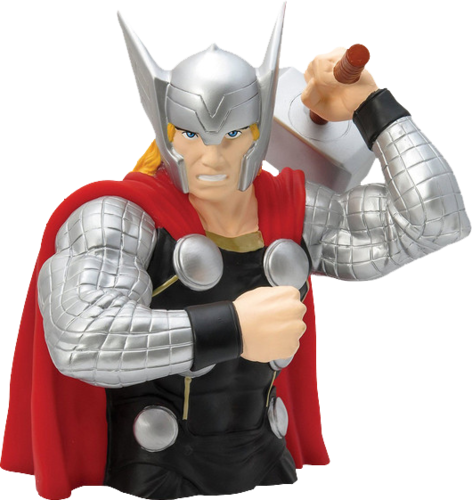 Marvel avengers bust bank -  The THOR - money box