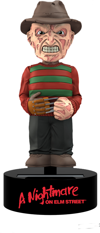 Neca Solar Powered bobble head FREDDY KRUEGER