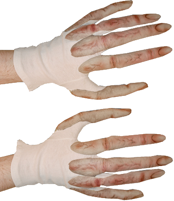 Super Action Alien gloves