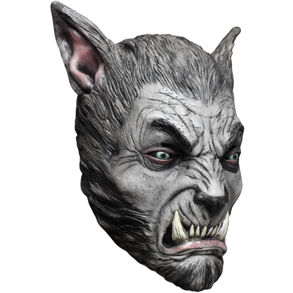 Silver Wolf Halloween horror mask