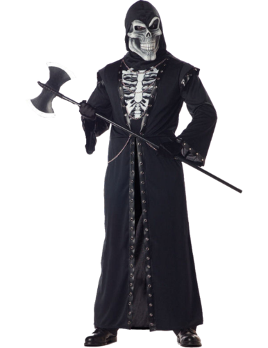 Crypt master Reaper costume including mask - Reaper costume