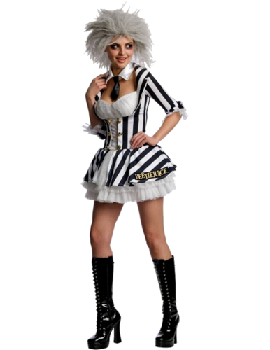 Female Beetlejuice costume - Halloween