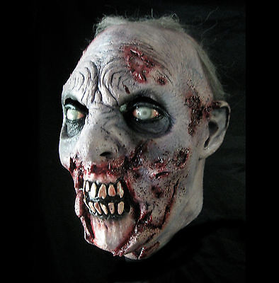 Flesh eater zombie horror mask