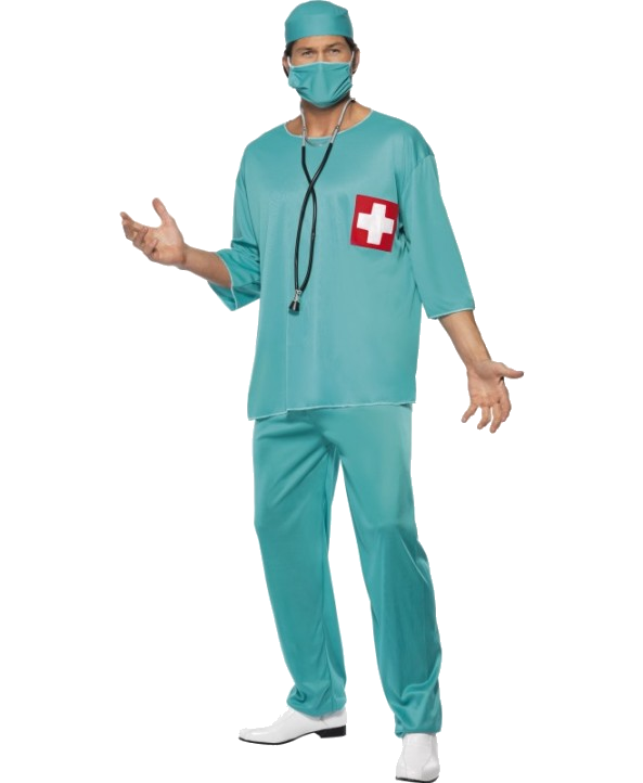 Surgeon adult  Costume - Halloween