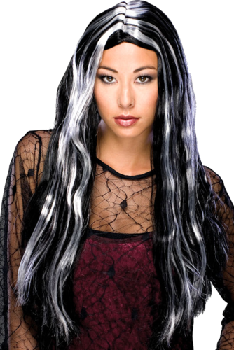 Wig lady vampire witch gothic