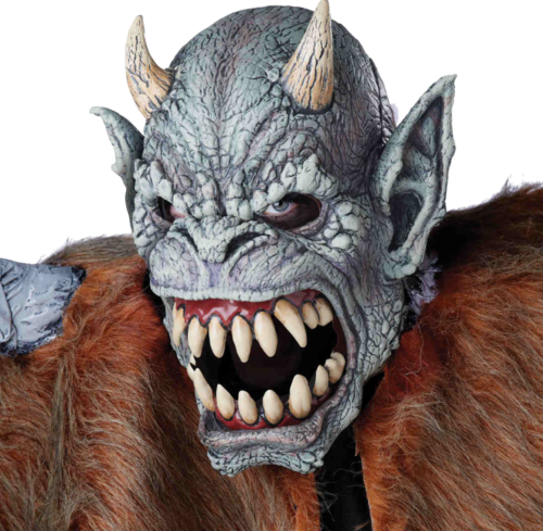 Gargoyle Moving mouth mask - Halloween
