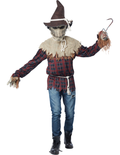 Demon scarecrow costume - Moving mouth