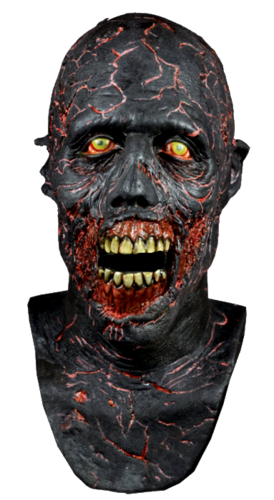 Walking dead charred walker mask