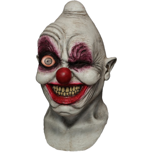 Digital animated eye Clown mask - Halloween
