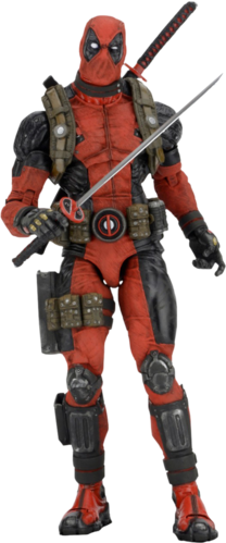 "Deadpool 1/4 scale 18"" action figure - ultimate figure"