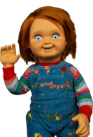 Read entire post: Chucky doll life size prop replica 'Good Guys' has arrived