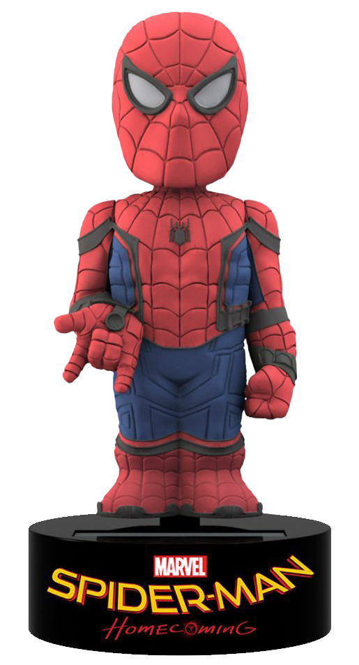 Neca solar powered bobble head SPIDER MAN
