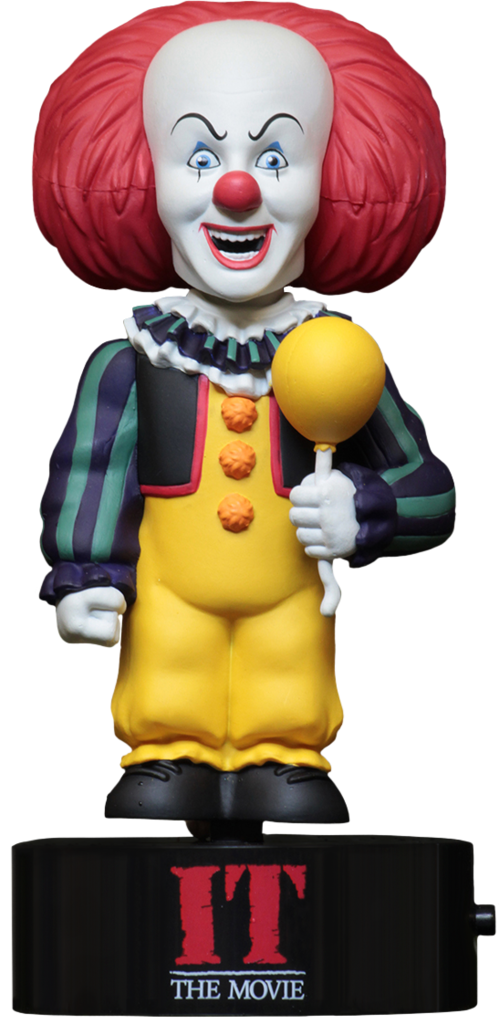 Neca solar powered bobble head PENNYWISE 'IT'