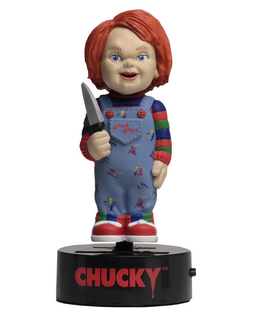 Neca solar powered bobble head CHUCKY