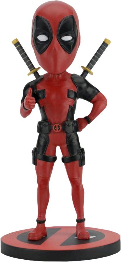"Deadpool head knocker figure 7"" - 20cm"