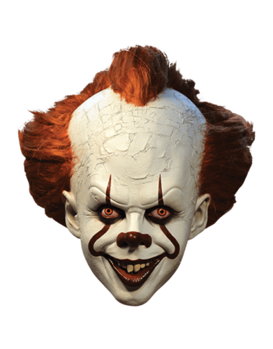 Pennywise IT Clown mask - Deluxe mask with hair
