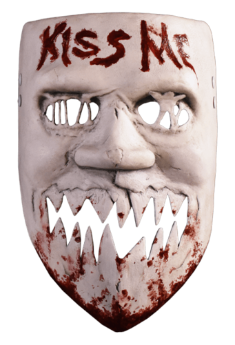THE PURGE Election year Kiss me movie mask