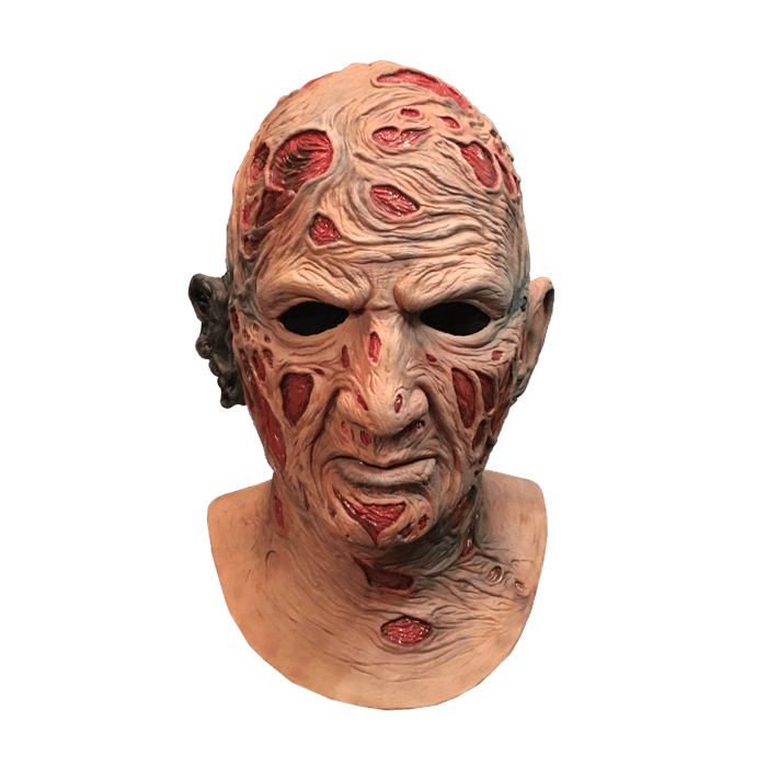 Freddy Krueger Mask deluxe  - 'NIGHTMARE ON ELM STREET'