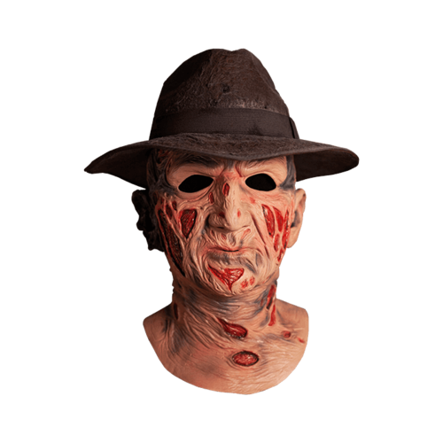 FREDDY KRUEGER Deluxe mask with hat - Nightmare elm st