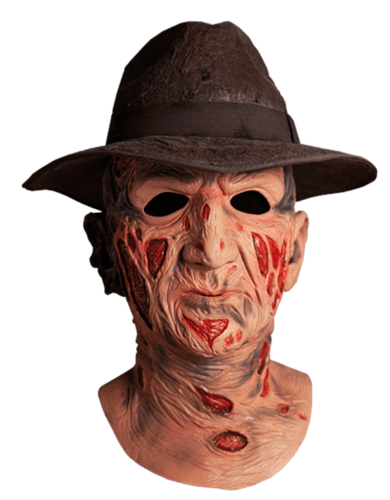 Freddy Krueger mask deluxe with hat - Nightmare on elm st