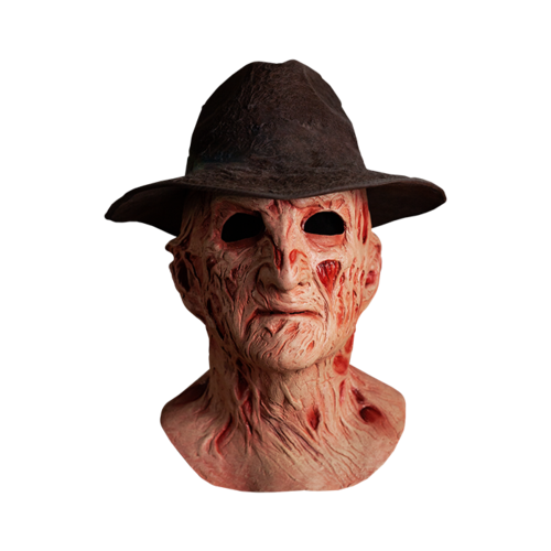 Freddy Krueger Mask deluxe with hat  - Nightmare elm street 4