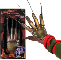 Read entire post: Freddy Krueger glove metal collectors glove