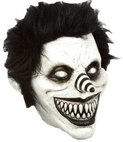'CREEPYPASTA' - Laughing Jack Mask - Horror clown mask