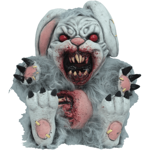 Evil Bad bunny rabbit 13 inch latex statue horror figure
