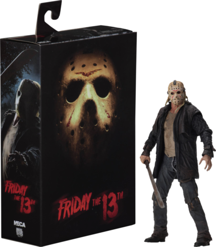 "Jason Voorhees ultimate 7"" action figure Friday the 13th"